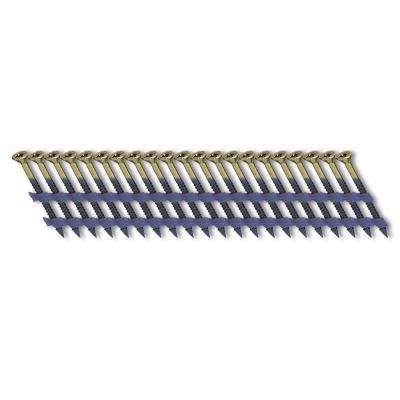 2-1/4 in. x 1/9 in. 20-Degree Plastic Strip Nail Screw Fastener (1,000-Pack)