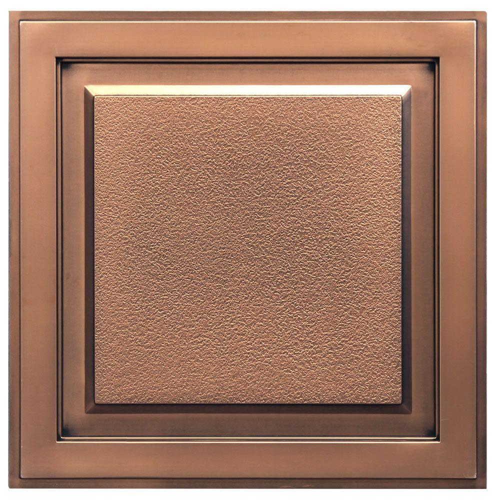 Wood ceiling tiles ceilings the home depot lay in or glue up ceiling dailygadgetfo Choice Image