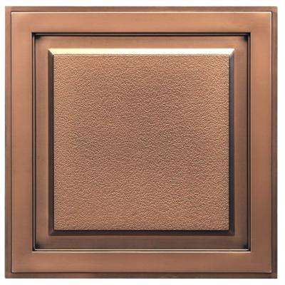 Element 2 ft. x 2 ft. Lay-in or Glue-up Ceiling Tile in Antique Bronze (40 sq. ft. / case)