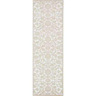 Rushmore Taft Snow White 3' 0 x 9' 10 Runner Rug