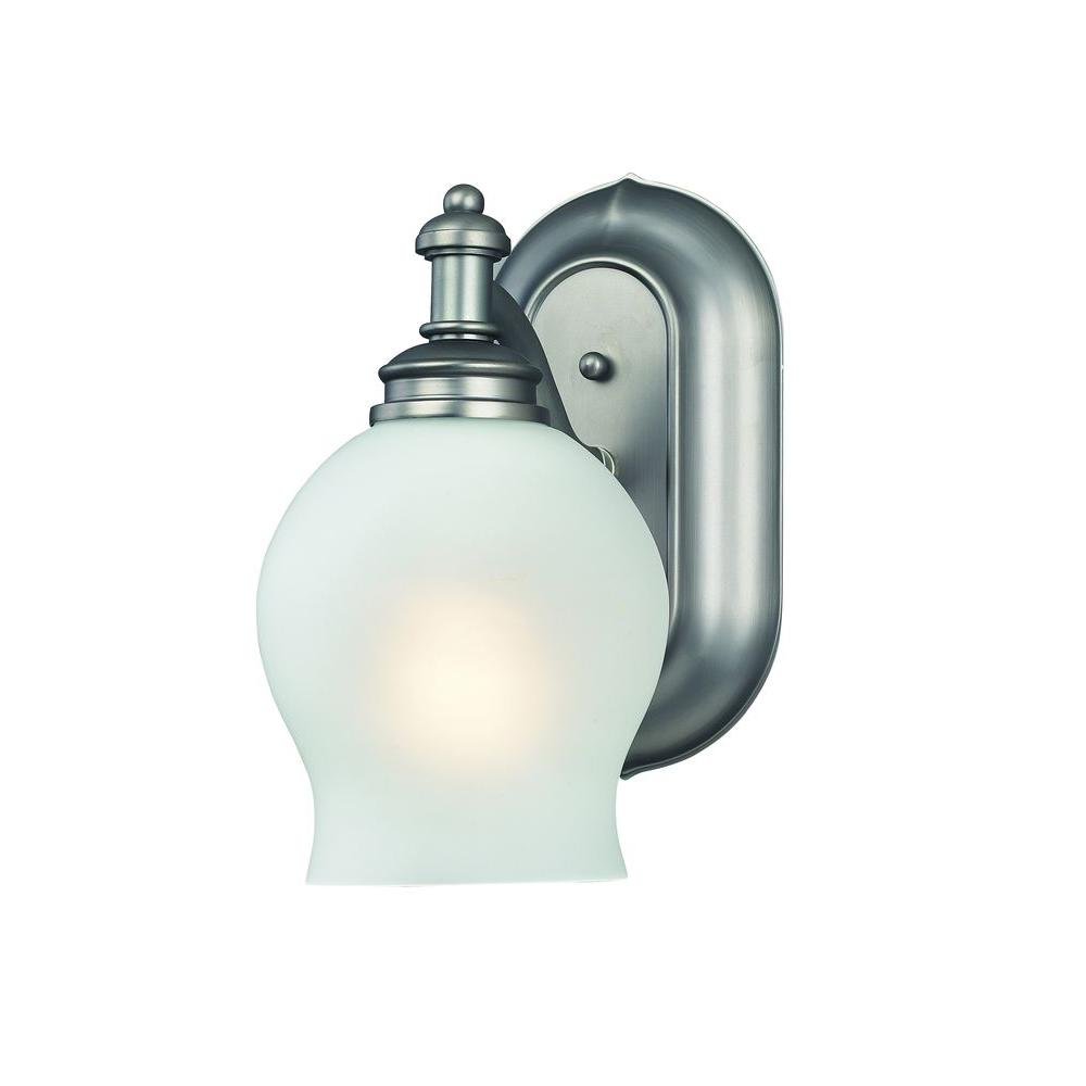 Tulen Lawrence 1 Light Wall Antique Pewter Incandescent Vanity-DISCONTINUED