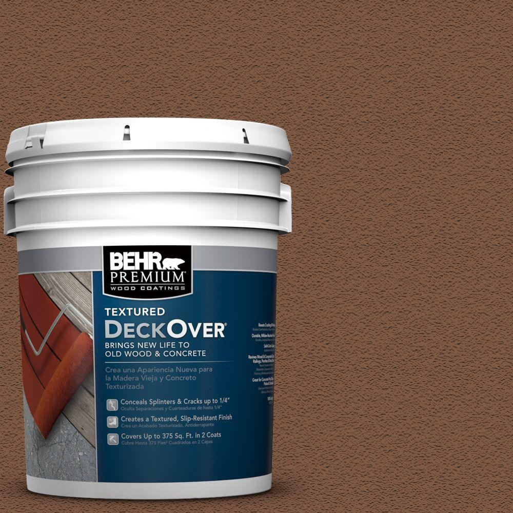 5 gal. #SC-110 Chestnut Wood and Concrete Coating