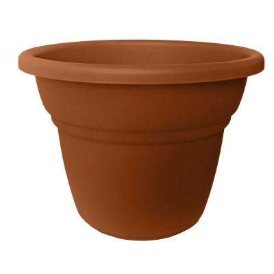 28 in. Terra Cotta Plastic Milano Planter