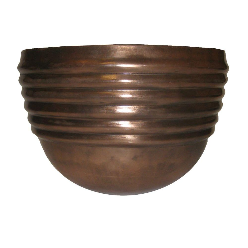 null 15 in.Tiber Copper Planter-DISCONTINUED
