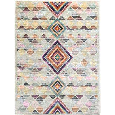 Tanja Elvin Multi 5 ft. 2 in. x 7 ft. 2 in. Indoor Area Rug