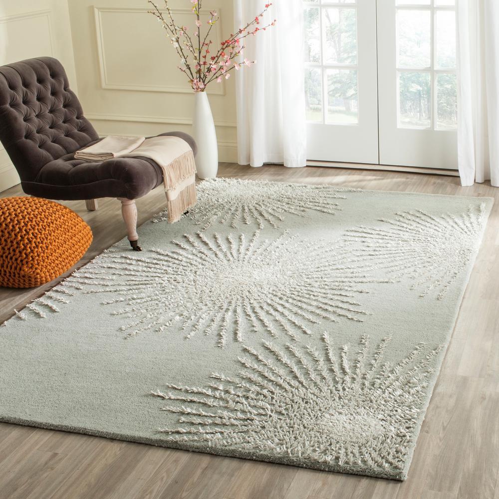 Safavieh Soho Grey/Ivory Wool 10 ft. x