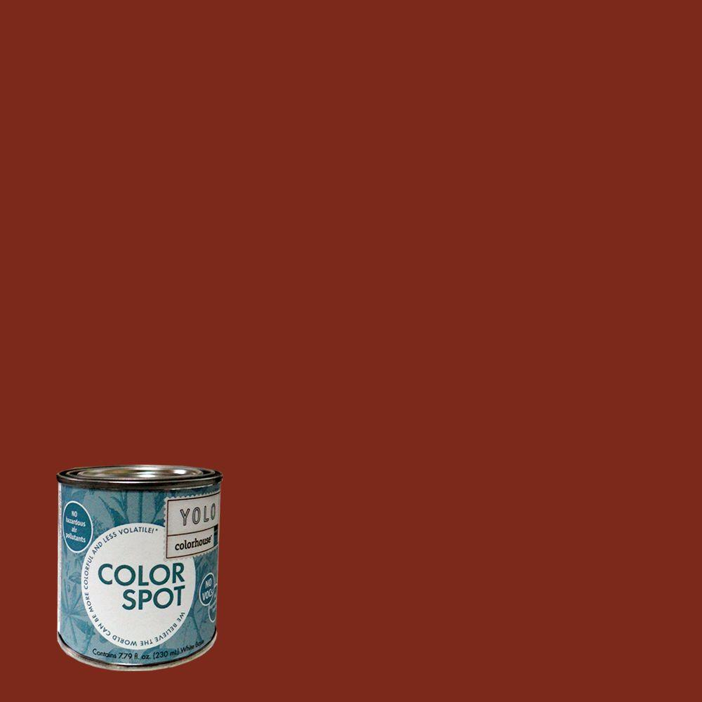 YOLO Colorhouse 8 oz. Wood .03 ColorSpot Eggshell Interior Paint Sample-DISCONTINUED