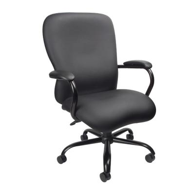Black Heavy Duty 350 lbs. Caressoft Plus Chair
