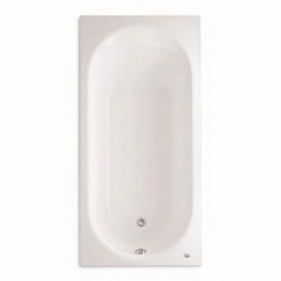Stratford 5.5 ft. x 32 in. Reversible Drain Americast Soaking Bathtub in White