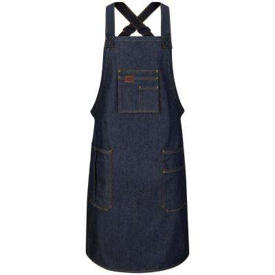 Men's 28 in. x 36 in. Denim Shop Apron