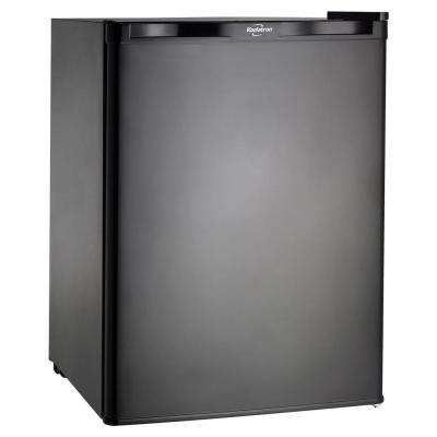 2.56 cu. ft. Mini Refrigerator in Black