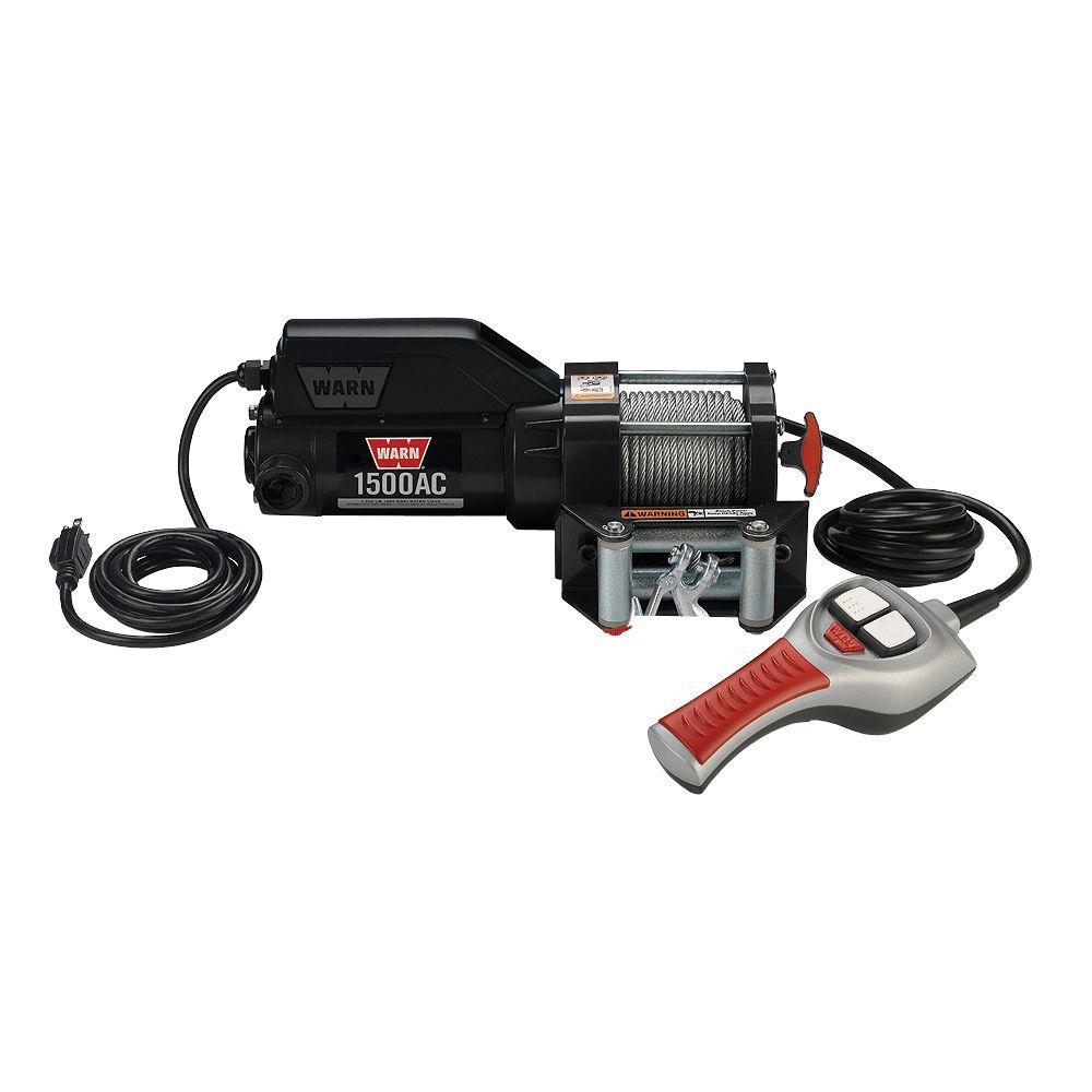 1500 lbs. 120-Volt AC Utility Winch