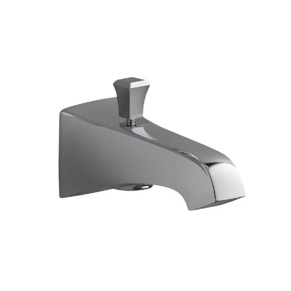 KOHLER Memoirs Wall-Mount Diverter Bath Spout in Polished Chrome