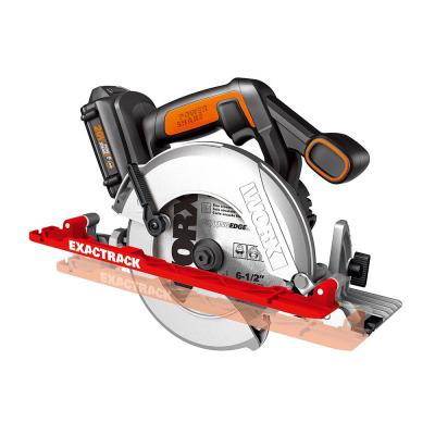 POWER SHARE 20-Volt 6-1/2 in. Circular Saw ExacTrack