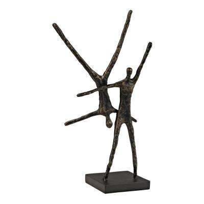 Tumble Dancers Iron And Metal Statue