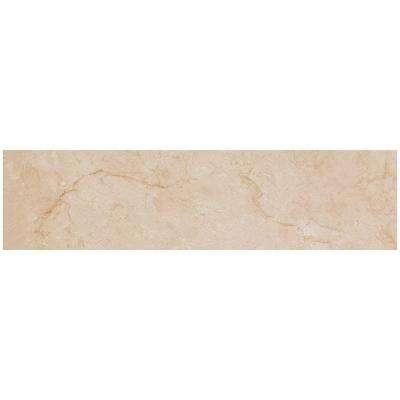 VitaElegante Crema 6 in. x 24 in. Porcelain Floor and Wall Tile (14.53 sq. ft. / case)