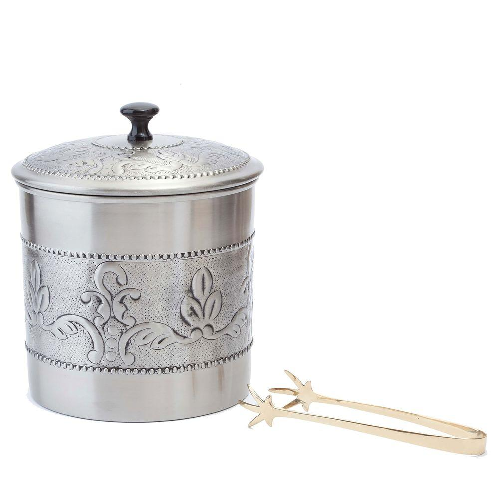 Old Dutch 3 qt. Antique Embossed Victoria Ice Bucket with...