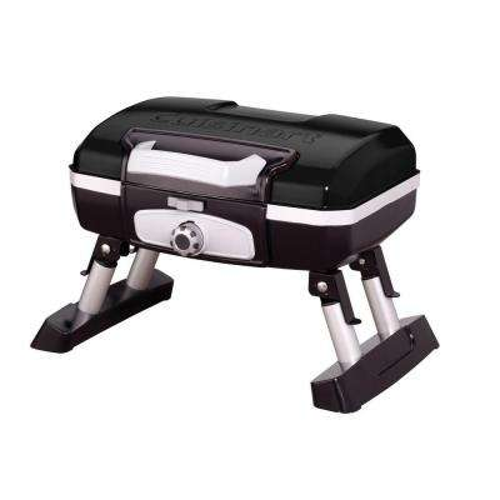Petit Gourmet 1-Burner Tabletop Portable Propane Gas Grill in Black