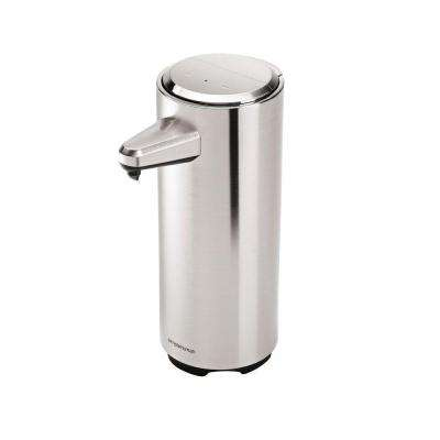 11 fl. oz. Rechargeable Sensor Soap Pump in Brushed Nickel