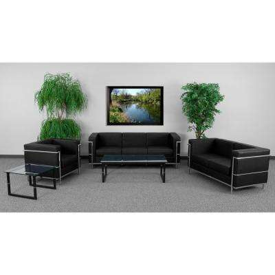 Hercules Regal Series 3-Piece Black Reception Set