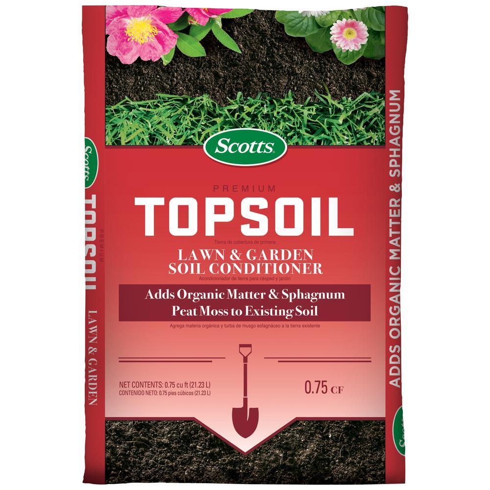 Premium 0.75 cu. ft. Top soil