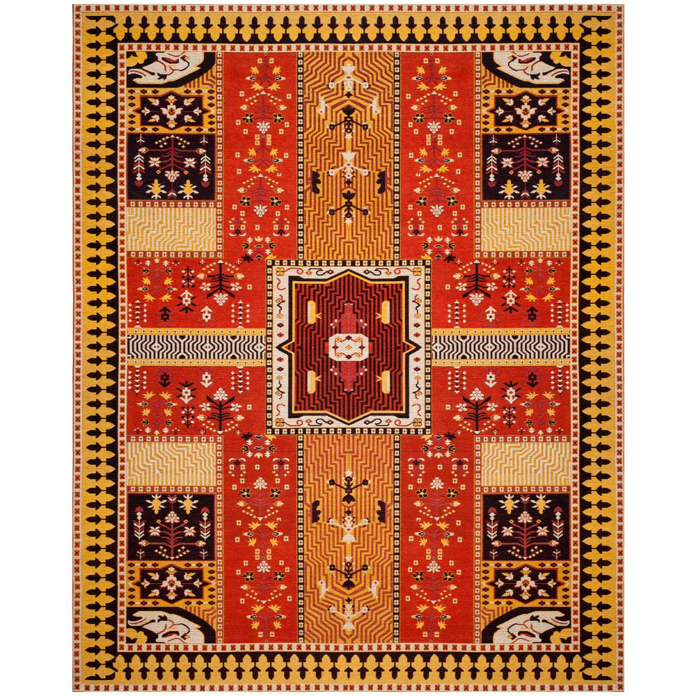 Safavieh Classic Vintage Orange/Gold 8 ft. x 10 ft. Area Rug