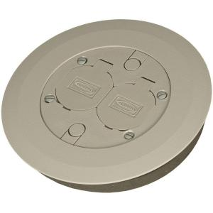 Round Floor Box Cover Kit With 2 Lift Lids For Use With 5511 Floor Box