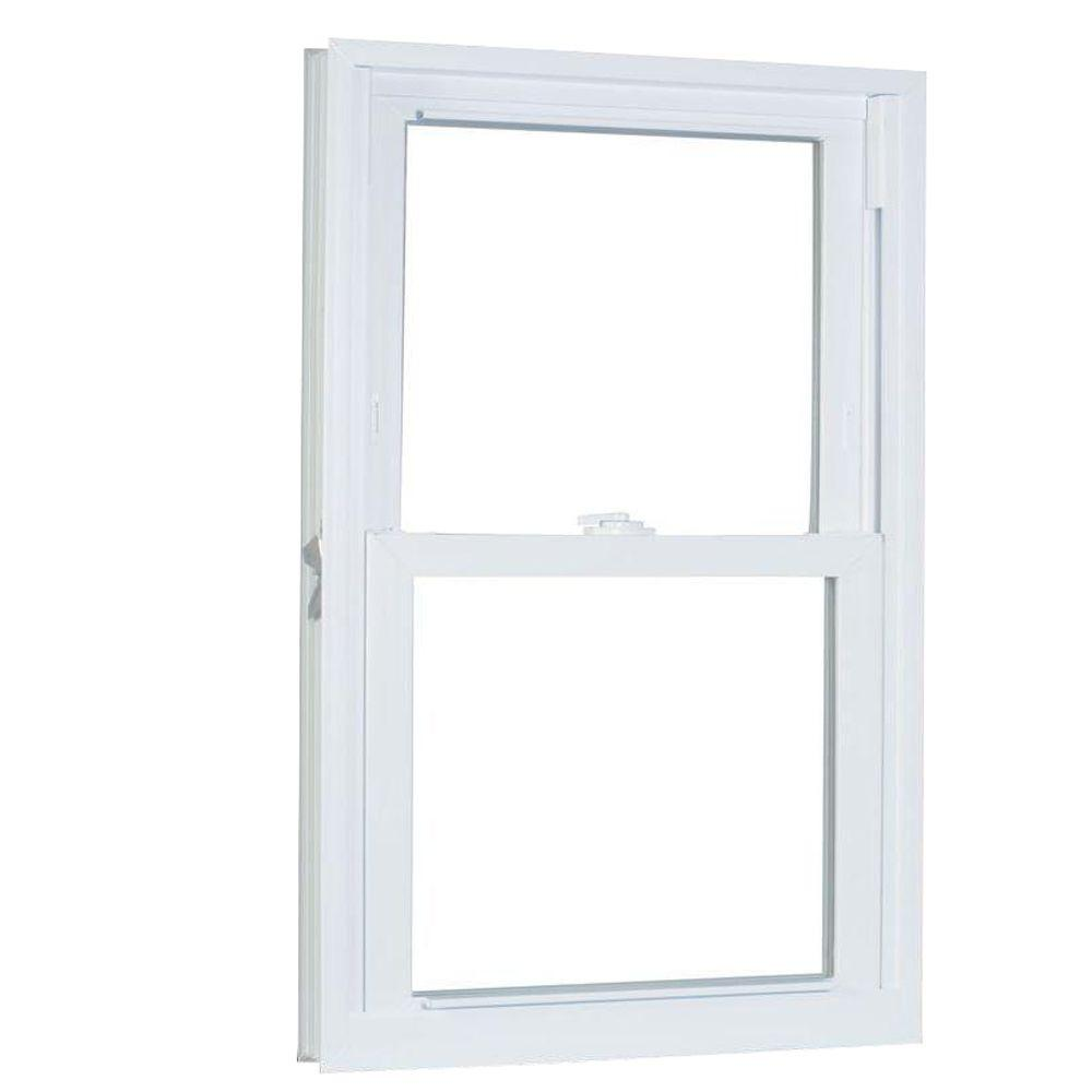 31.75 in. x 41.25 in. 70 Series Pro Double Hung White