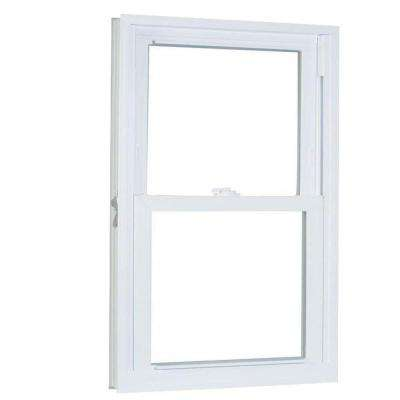 31.75 in. x 41.25 in. 70 Series Pro Double Hung White Vinyl Window with Buck Frame