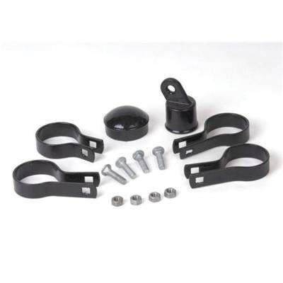 "2-3/8"" CORNER POST KIT - Black"