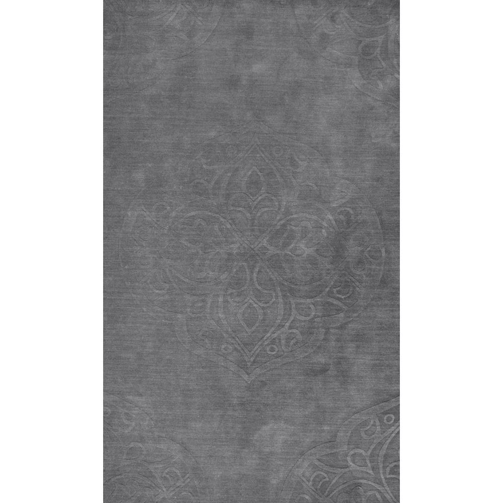 Nuloom Washable Rugs: NuLOOM Strother Grey 10 Ft. X 14 Ft. Area Rug-RUCS05A