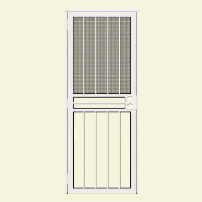 White - 30 X 80 - Security Doors - Exterior Doors - The Home Depot