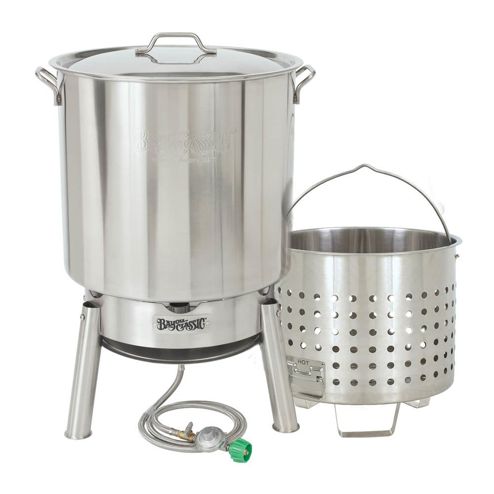 82 Qt. Stainless Steam and Boil Kit