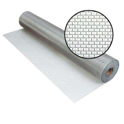 72 in. x 100 ft. Brite Aluminum Screen (Tube)