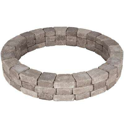 Rumblestone 66 in. x 10.5 in. Tree Ring Kit in Greystone