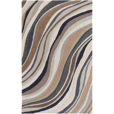 Lounge Carmen Charcoal 9 ft. x 13 ft. Indoor Area Rug