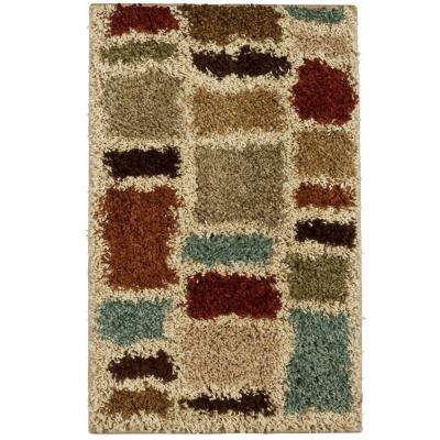 Moodie Blues Multicolor 2 ft. x 3 ft. Area Rug
