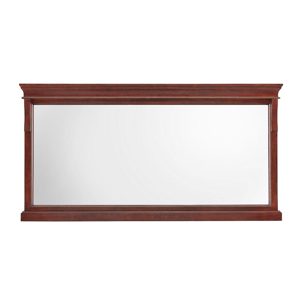 Naples 60 in. W x 31 in. H Framed Wall Mirror