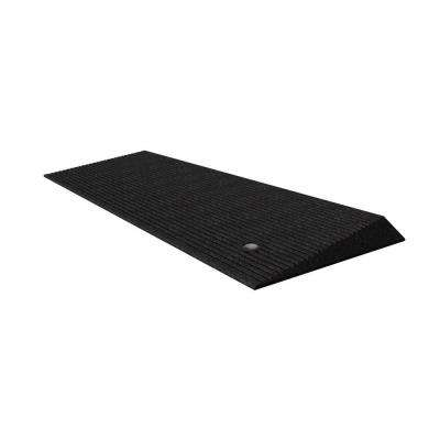 1.5 in. Rubber Threshold Ramp with Beveled Edges
