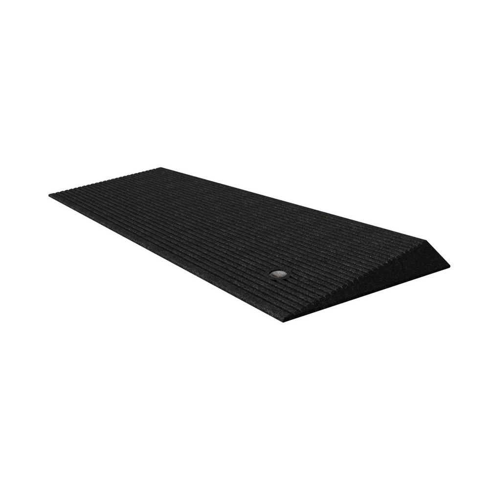 Homecare 1.5 in. Rubber Threshold Ramp with Beveled Edges