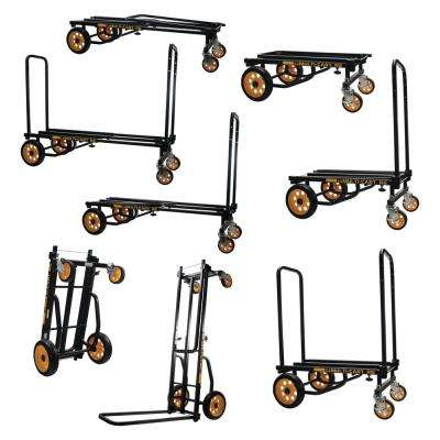Metal 8-in-1 Multi-Cart in Black