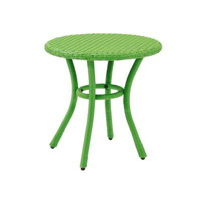 Palm Harbor Wicker Outdoor Side Table