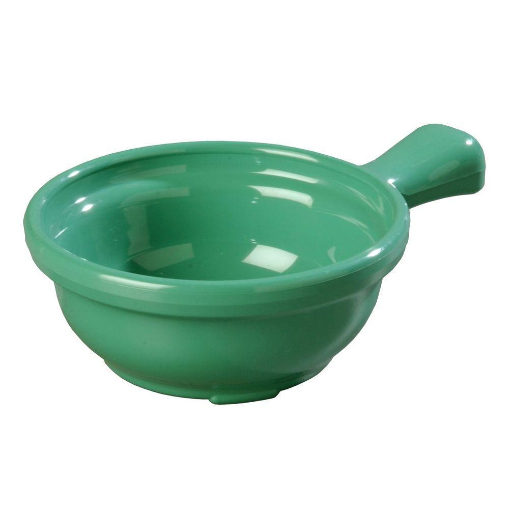 8 oz. 4.64 in. Diameter San Handled Soup Bowl in Meadow