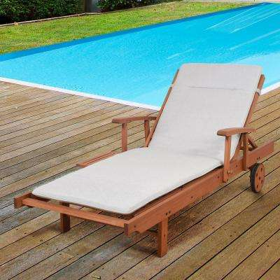 Charmant Iverson 2 Piece Wood Outdoor Chaise Lounge ...