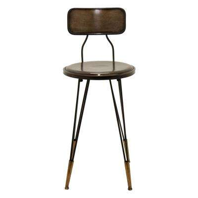 14.5 in. x 16.25 in. Bronze Metal Chair