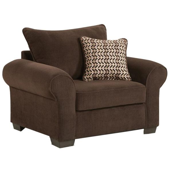 Brandywine Chocolate Extra Large Chair 98521ch Co The Home Depot