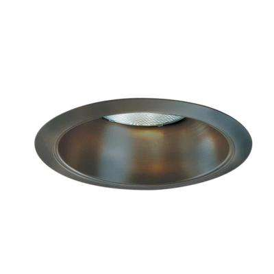 426 Series 6 in. Tuscan Bronze Recessed Ceiling Light Reflector Cone Trim