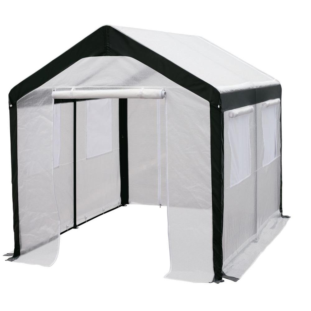 Spring Gardener 8 Ft. H X 8 Ft. W X 10 Ft. L Gable Greenhouse IS 70810    The Home Depot
