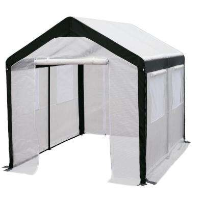 8 ft. H x 8 ft. W x 10 ft. L Gable Greenhouse