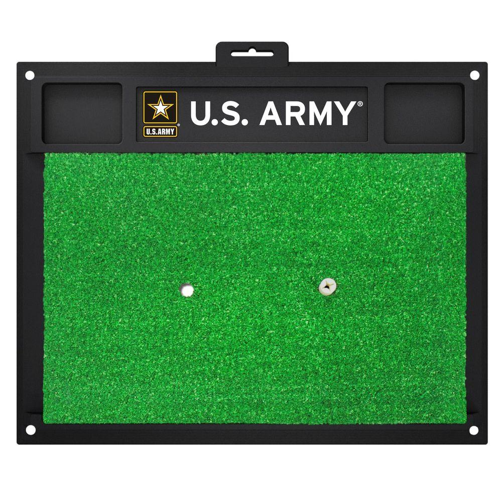 MIL U.S. Army 17 in. x 20 in. Golf Hitting Mat